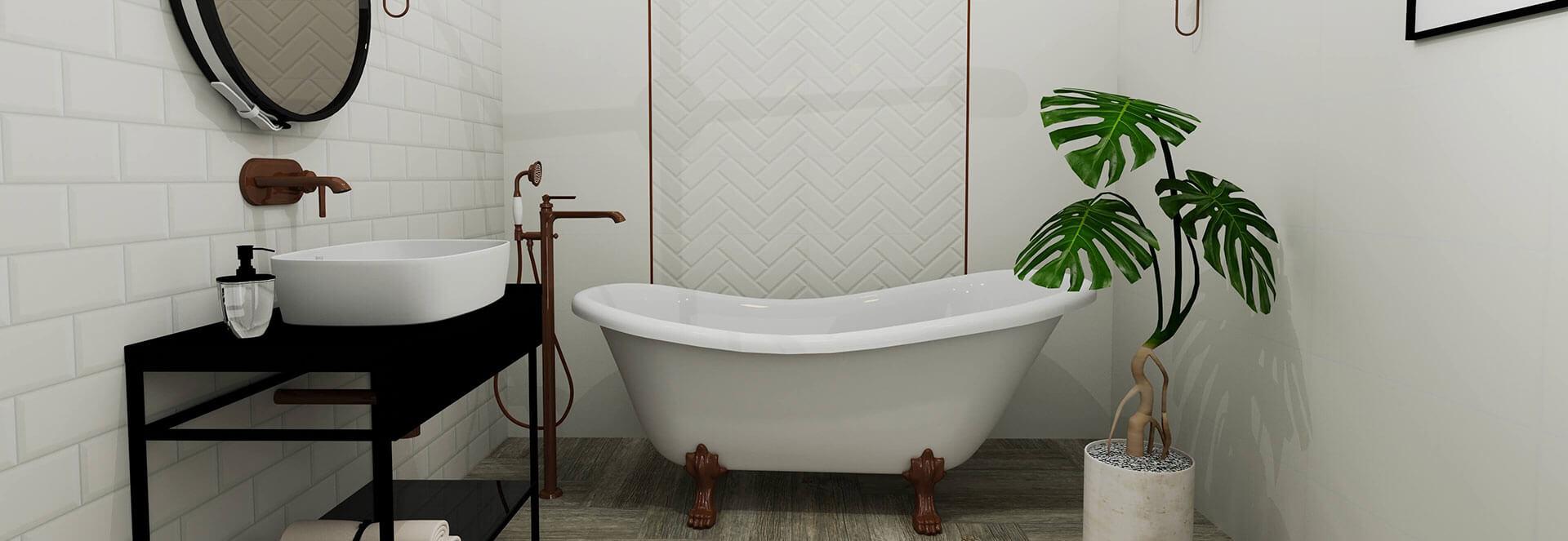 łazienka biała